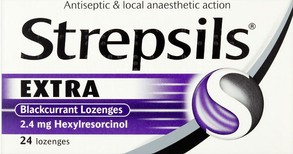 Strepsils Extra Triple Action Lozenges