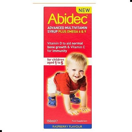 Abidec Advanced Multivitamin Syrup Plus Omega 6 & 9