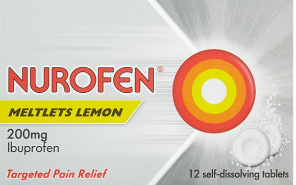 Nurofen Meltlets Lemon
