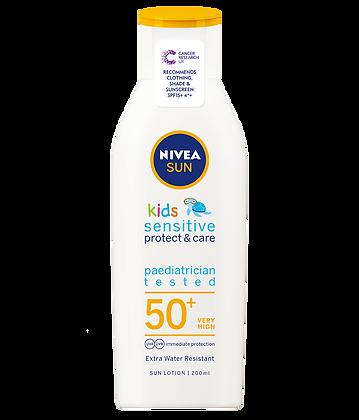 NIVEA Kids Sensitive Protect & Care Sun Lotion SPF 50