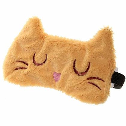 Cat Eye Mask - Feline Fine plush eye mask