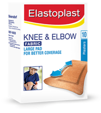 Elastoplast Knee & Elbow Fabric Plasters