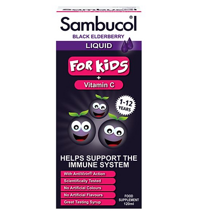 Sambucol for Kids Black Elderberry Liquid