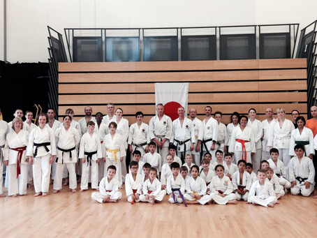 Training with Simon Bligh Sensei and Glenn Riley Sensei