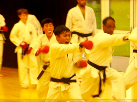 Kumite lesson, come join the fun!