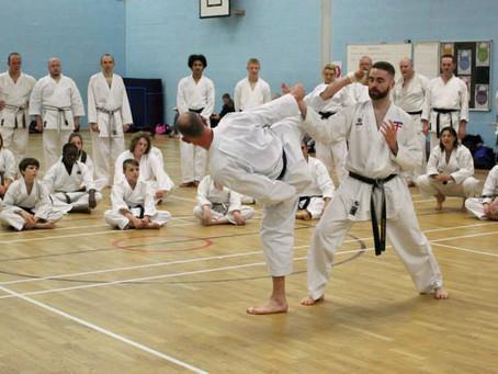 JKS England Black and Brown belt Course, 9/11/14