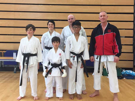 A.S.K.A First Black and Brown Belt Course and Dan Grading October 2016