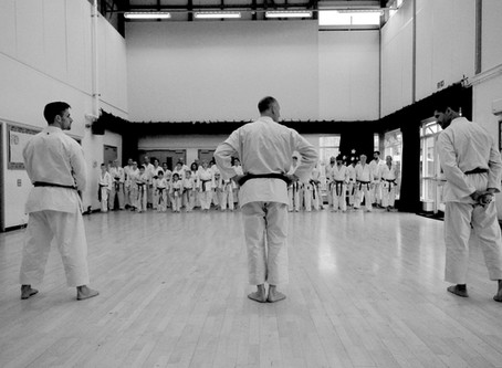 Training with Sensei's Glenn Riley, John Gardiner, and Gabriel Van-Rel