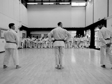 Training with Sensei's Glenn Riley, John Gardiner, and Gabriel Van-Rel
