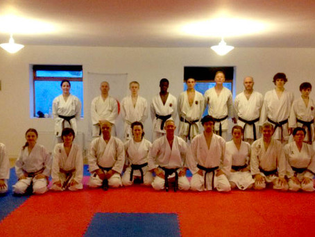 Kata and Kumite Course 2012 (Glenn Riley 5th Dan and Ryan Tucker 2nd Dan)