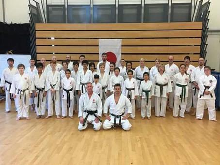 World Champion John Gardener visits Akashi Dojo January 2017