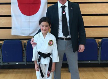 Akashi Dojo has new Dan Grades, October 12, 2019