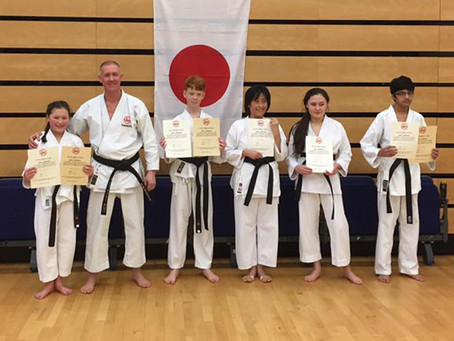 A.S.K.A. Black & Brown Belt Course and Dan Grading January 2017
