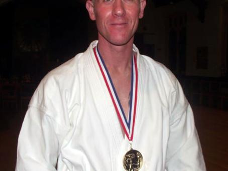 Sensei Glenn Riley takes Gold at M.A.I. Open Championships