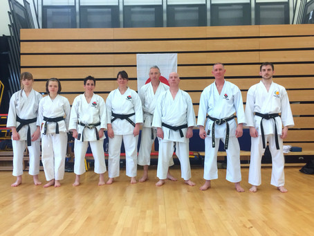 WTKO Open Kata Course with Glenn Riley Sensei 10th May