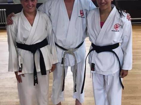 Akashi Dojo has New Dan Grades, August 17, 2019