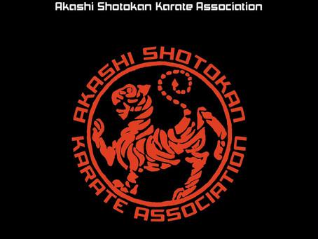 Akashi Shotokan Karate Club becomes A.S.K.A September 2016