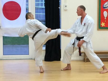 Kitagawa Sensei teaches at Akashi Dojo