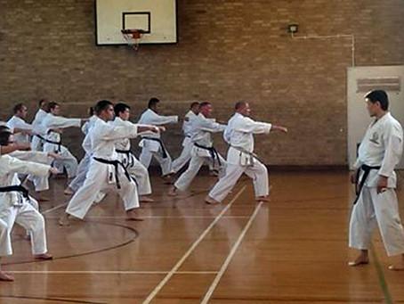 Training with Kosho Kanayama Sensei 7th Dan