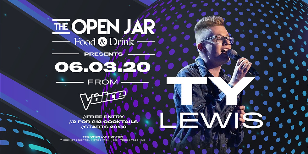 TY Lewis LIVE, from The Voice