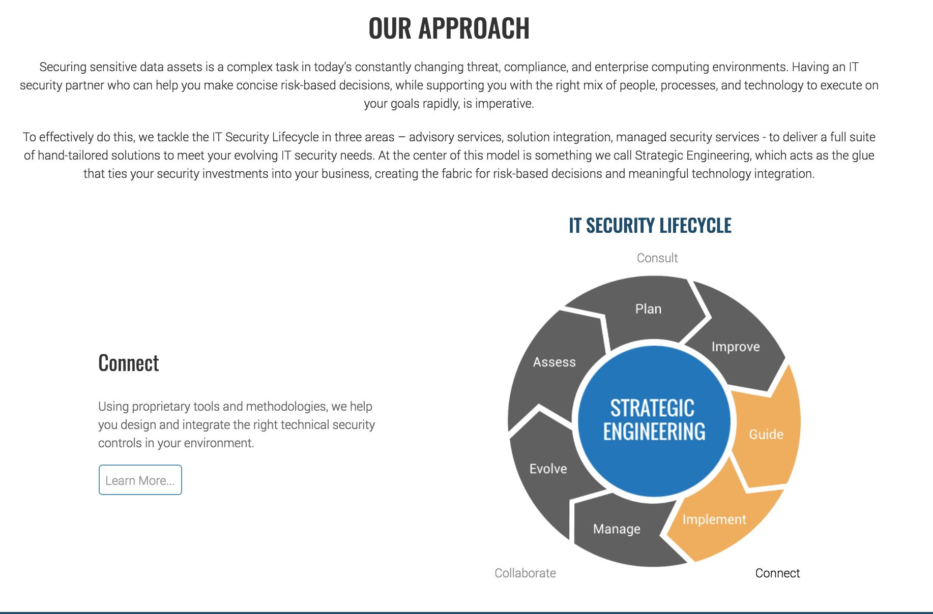 Website Element - Homepage