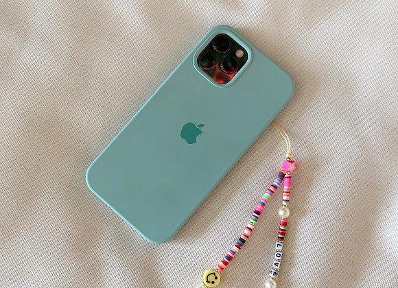 Phone strap love heart