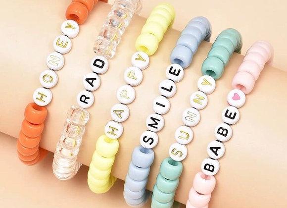 Pulsera trend colors