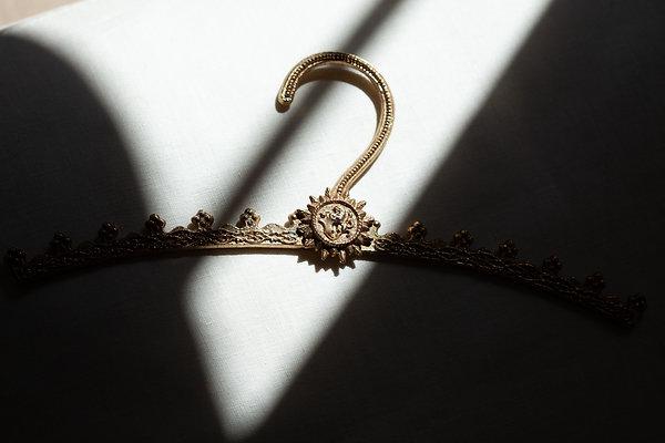 Antique Small Brass Hanger