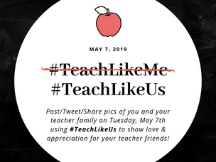 #TeachLikeUs Day 2019