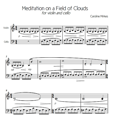 Meditation On a Field of Clouds