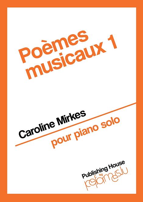 Poèmes Musicaux 1