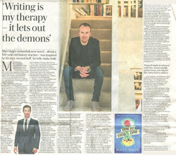 Daily Telegraph interview 5.7.17