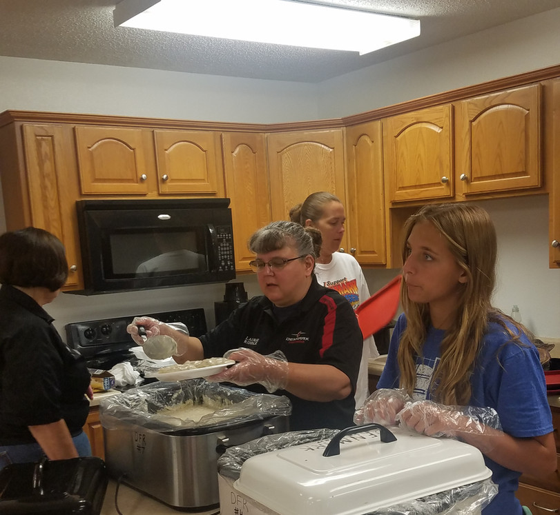 Breakfast at the Fire Station