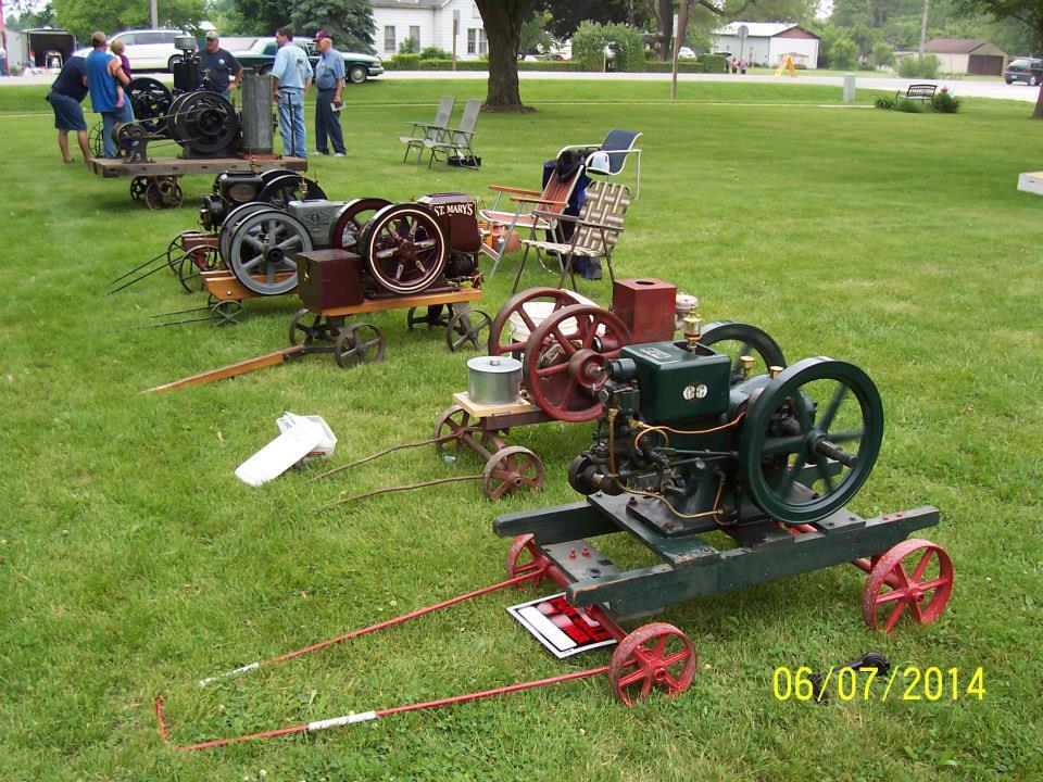 Gas engine show