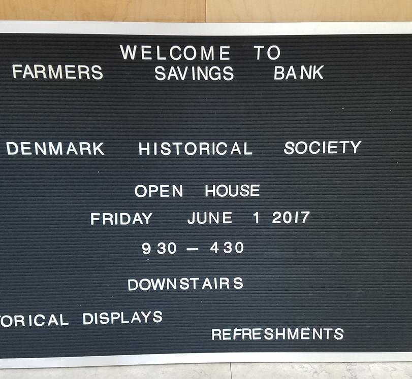 Denmark Historical Society Museum