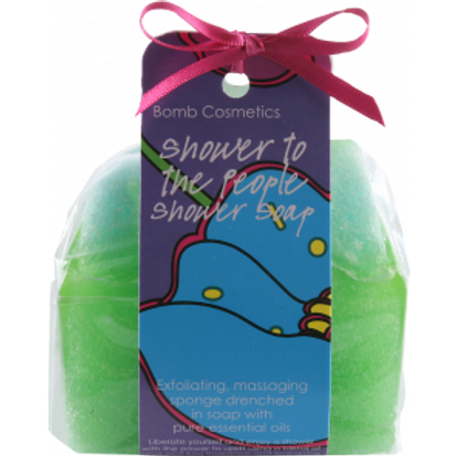 SHOWER TO THE PEOPLE Spugna sapone BOMB COSMETICS