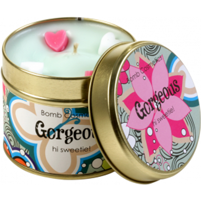 GORGEOUS TINNED CANDLE BOMB COSMETICS
