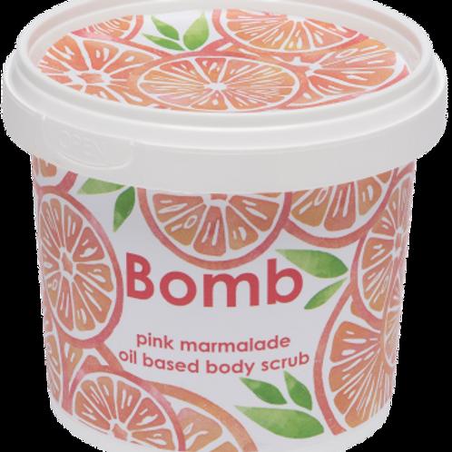 PINK MARMALADE BODY SCRUB BOMB COSMETICS