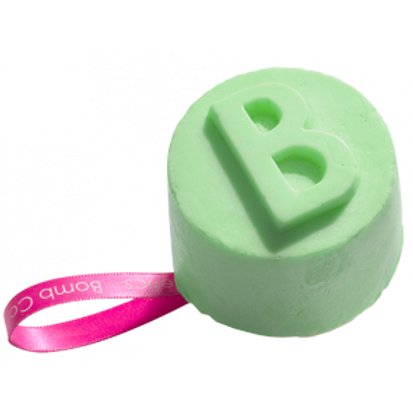 LIME & SHINE SOLID SHOWER GEL BOMB COSMETICS