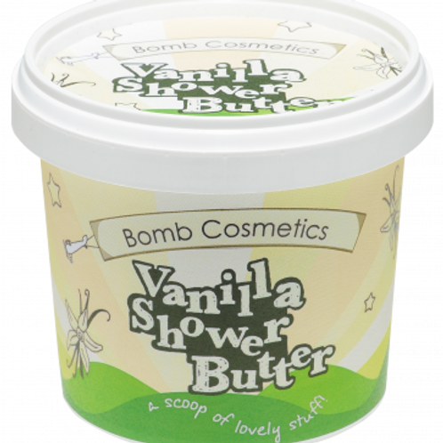 VANILLA CLEANSING SHOWER BUTTER BOMB COSMETICS