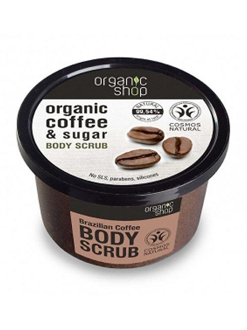 BRAZILIAN COFFEE & SUGAR BODY POLISH  ORGANIC SHOP