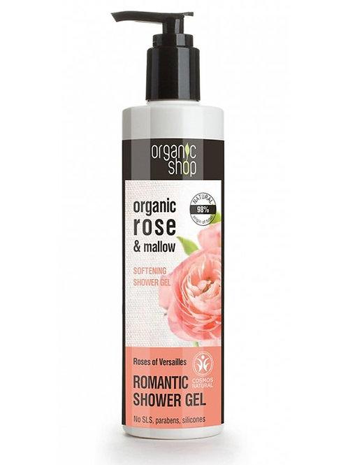 ROSES OF VERSAILLES ROMANTIC SHOWER GEL  ORGANIC SHOP