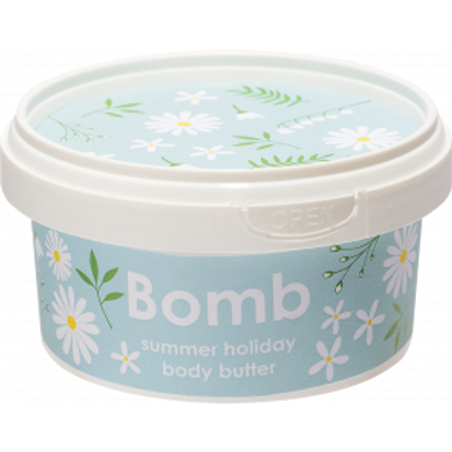 SUMMER HOLIDAY WHIPPED BODY BUTTER BOMB COSMETICS