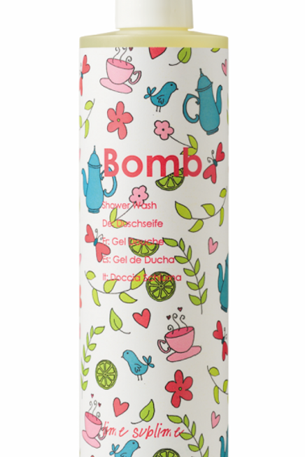 LIME SUBLIME SHOWER GEL BOMB COSMETICS