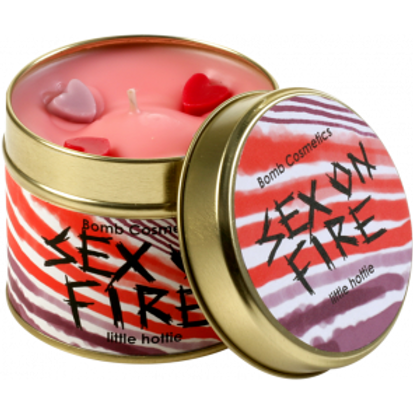 SEX ON FIRE Tin Candle BOMB COSMETICS