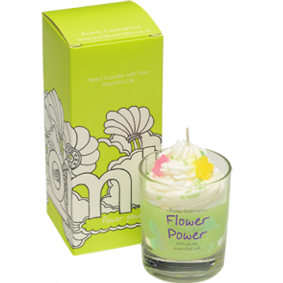 FLOWER POWER WHIPPED CANDLE BOMB COSMETICS