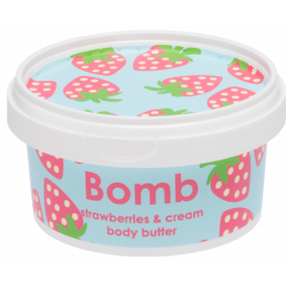STRAWBERRY & CREAM BODY BUTTER BOMB COSMETICS