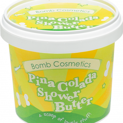 PINA COLADA CLEANSING SHOWER BUTTER BOMB COSMETICS