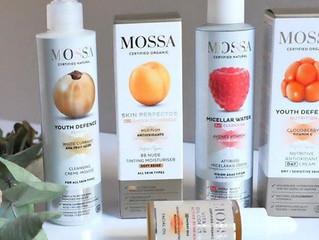Prodotti linea Mossa: La cosmetica eco-bio