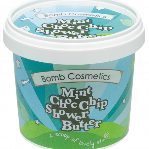 MINT CHOC CHIP CLEANSING SHOWER BUTTER BOMB COSMETICS